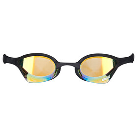 arena Cobra Ultra Mirror Goggles yellow revo-black-black